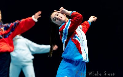 Tæt på dansestuderende Laura Mols